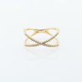 Criss-Cross Fashion Ring