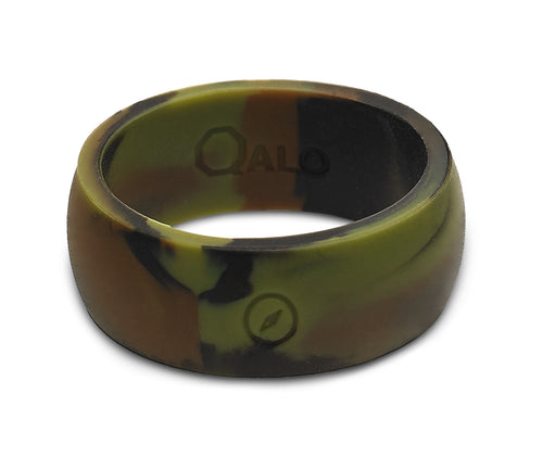 Men's Outdoors Camo Silicone Ring