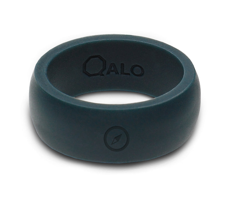 Men's Outdoors Slate Grey Silicone Ring