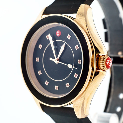Cape Topaz Black, Rose Gold Tone Watch