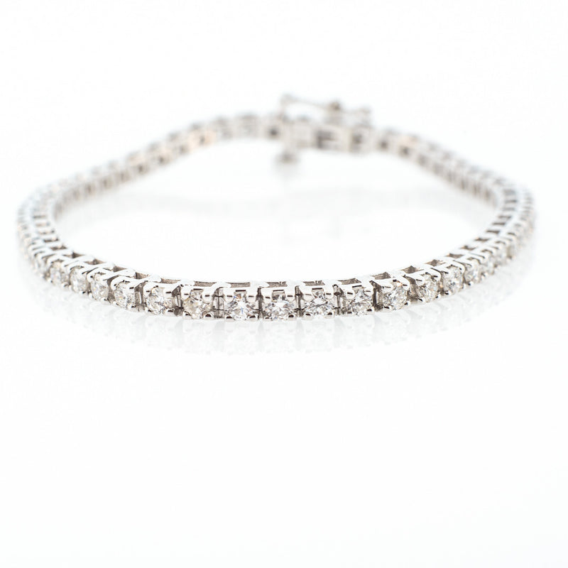 9.00ct Straight Line Diamond Bracelet