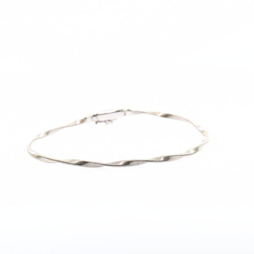 Marco Bicego Marrakech 18K White Gold Stackable Bangle