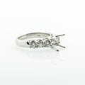 JB Star Platinum Engagement Ring Semi-Mount