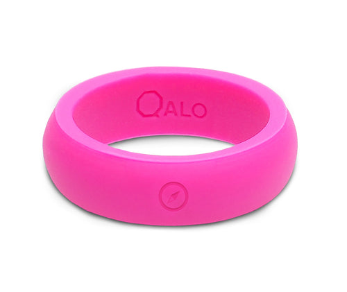 Women's Outdoors Pink Silicone Ring