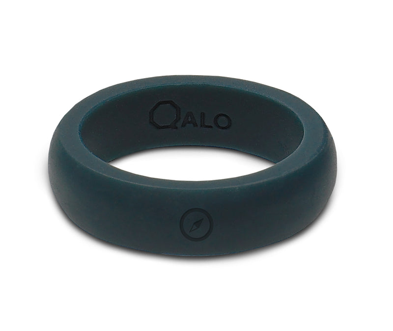 Women's Outdoors Slate Grey Silicone Ring