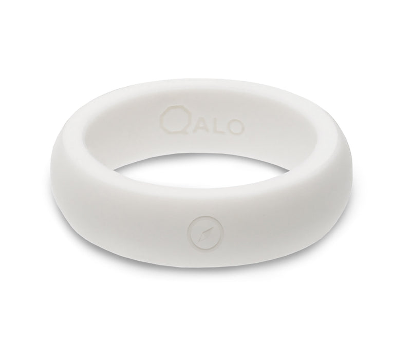 Women's Outdoors White Silicone Ring