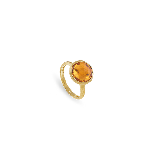 Marco Bicego Jaipur Ring with Yellow Quartz