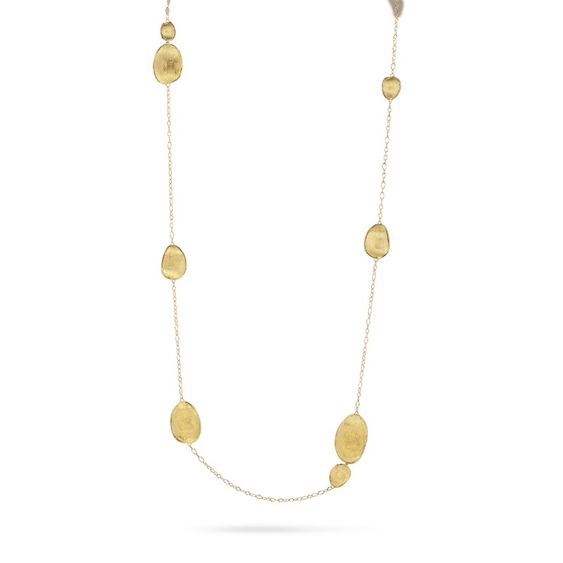 Marco Bicego 18K Yellow Gold Lunaria Necklace Long