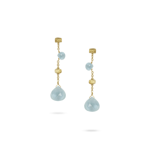 Marco Bicego Paradise Earrings with Aquamarines