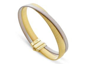 Marco Bicego 18K White and Yellow Gold Masai Bracelet