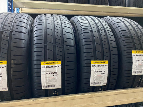 205/55R16 91H SP TOURING R1L DL (TH) Dunlop PCR0117 $103.00
