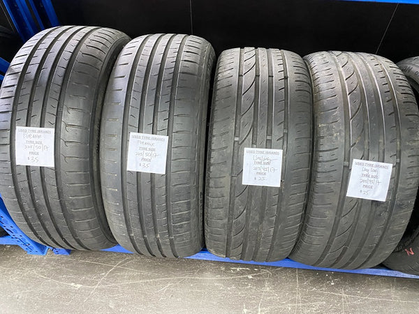 Used Tyre 225/50/17 Firemax