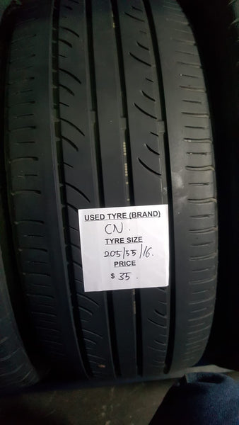 Used Tyre 205/55/16 CN