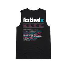Load image into Gallery viewer, Ladies Lineup Tank - Black