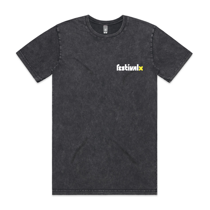 Stone Wash Tee - Faded Black