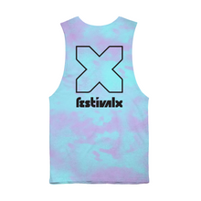 Load image into Gallery viewer, Tie Dye Tank - Blue/Pink