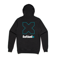Load image into Gallery viewer, Hoodie - Black/Teal