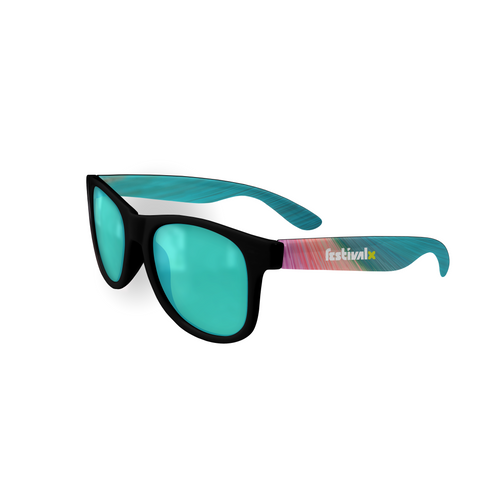 Sunglasses - Black/Teal