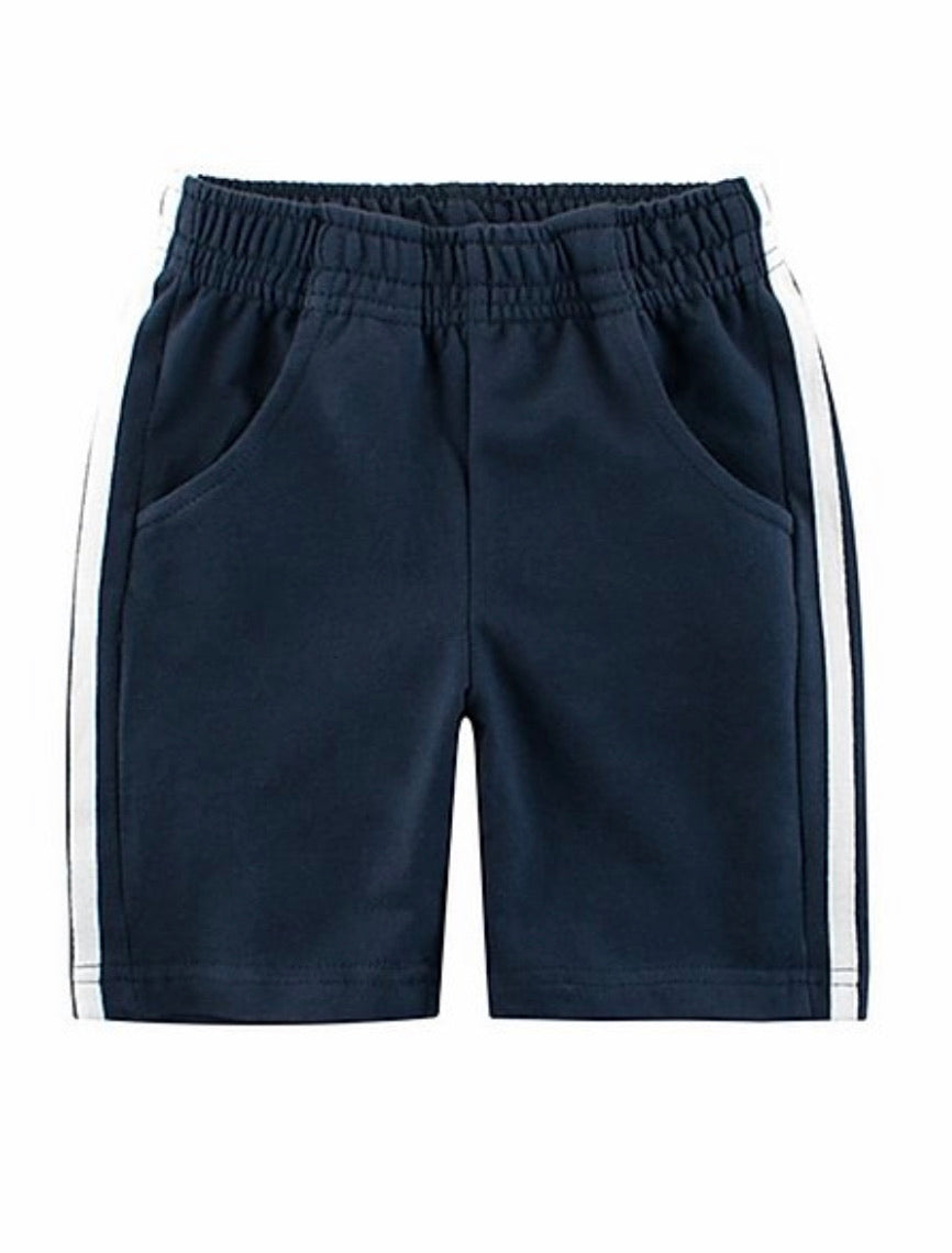 """Chill"" Navy Shorts"