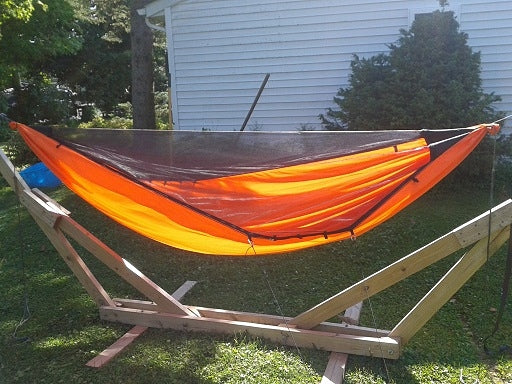 1.6 HyperD hammock with integrated bugnet