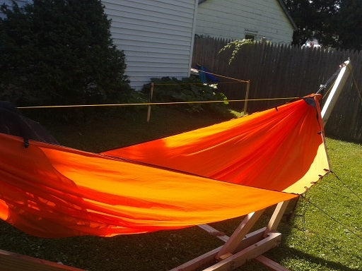 1.6 HyperD hammock with integrated bugnet - sideview