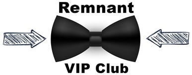 Remnant VIP Club sign-up
