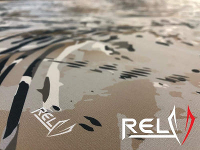 1.1 oz Ripstop Polyester Calendered - RELV Camo