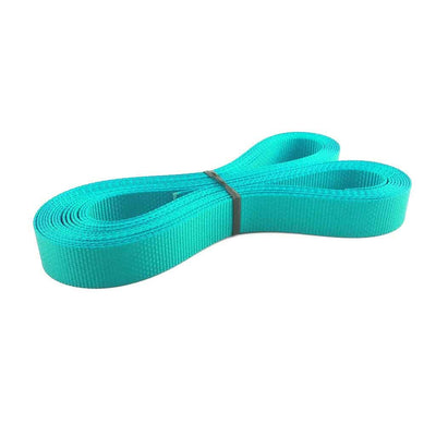 "1"" Polyester webbing 1500 lb - Colors, Robin Egg Blue"