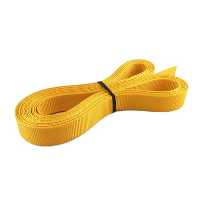 "1"" Polyester webbing 1500 lb - Colors, Spectra Yellow"