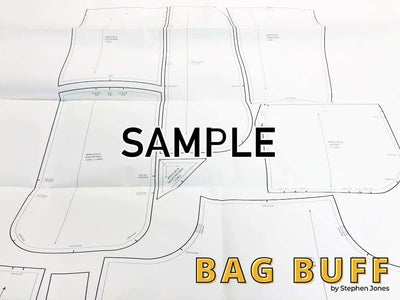 Simple Series Briefcase Template/Pattern Bundle