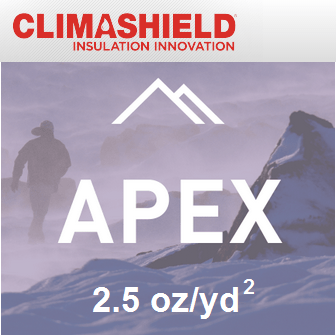 Climashield APEX - 2.5 oz/sq yd