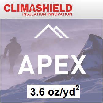 Climashield APEX - 3.6 oz/sq yd
