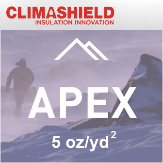 Climashield APEX - 5 oz/sq yd