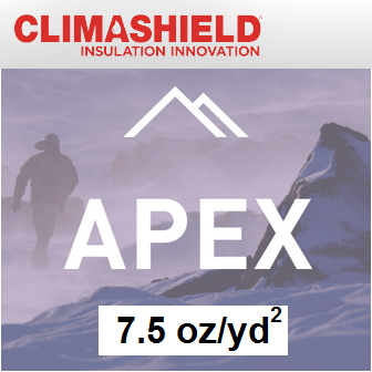 Climashield APEX - 7.5 oz/sq