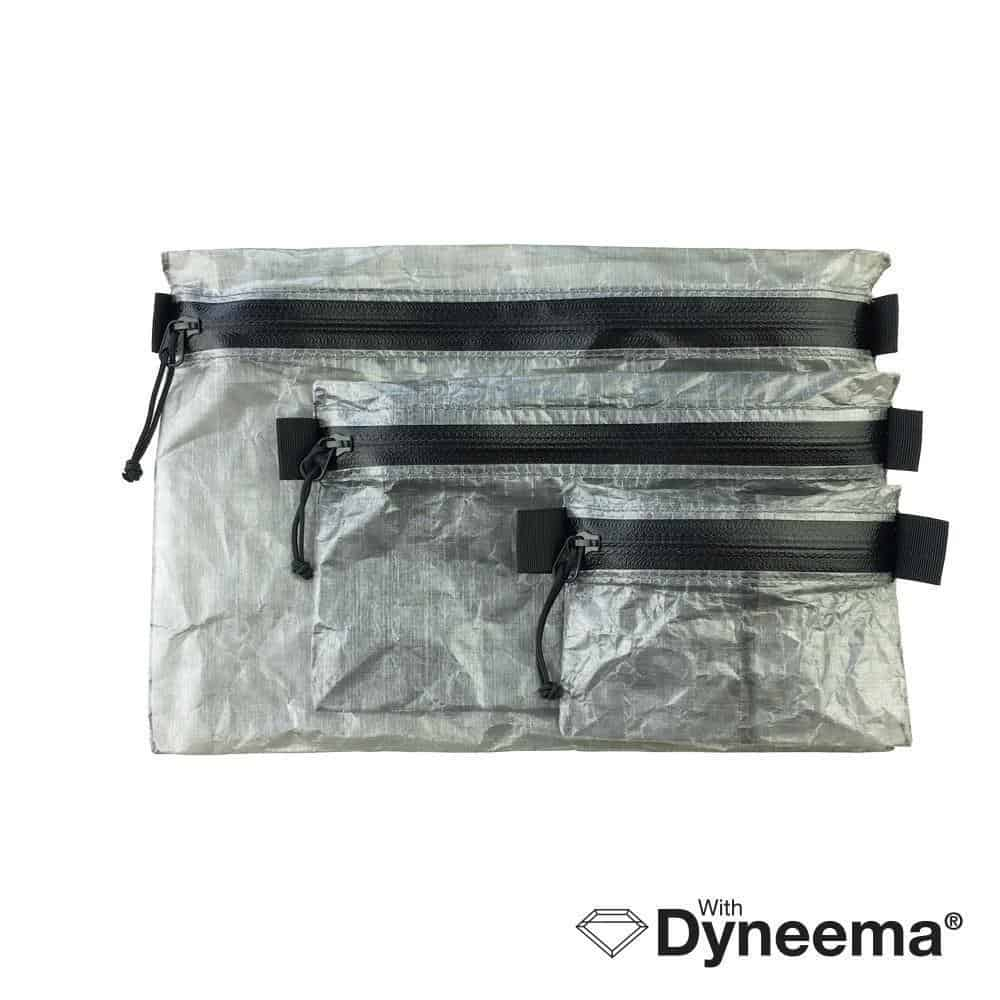 Zipper Pouch Kit with Dyneema Composite Fabric