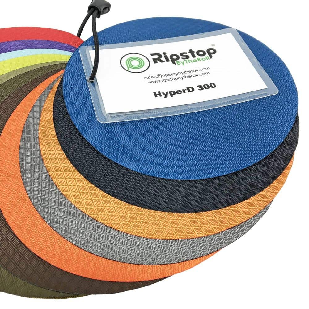 Swatch Sample Discount Fabric Ripstop Rip Stop Nylon Coyote Brown RS20