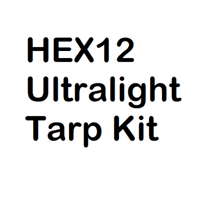 Hex12 Ultralight Tarp Kit