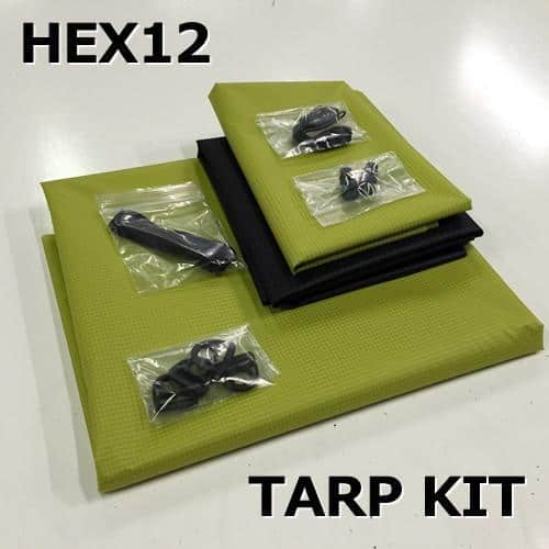 Hex12 Tarp Kit