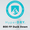 HyperDRY 800 FP Duck Down