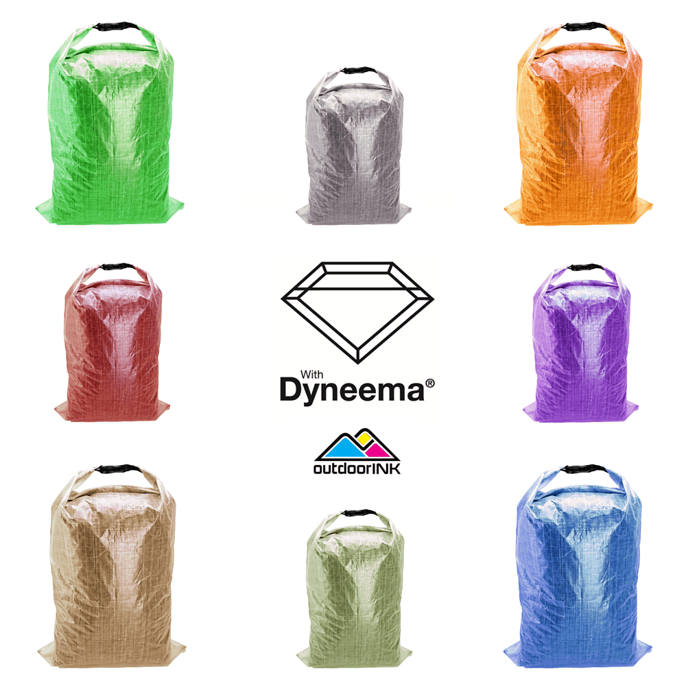Omnicolor Solids - Roll Top Dry Bag Kit with Dyneema® Composite Fabric