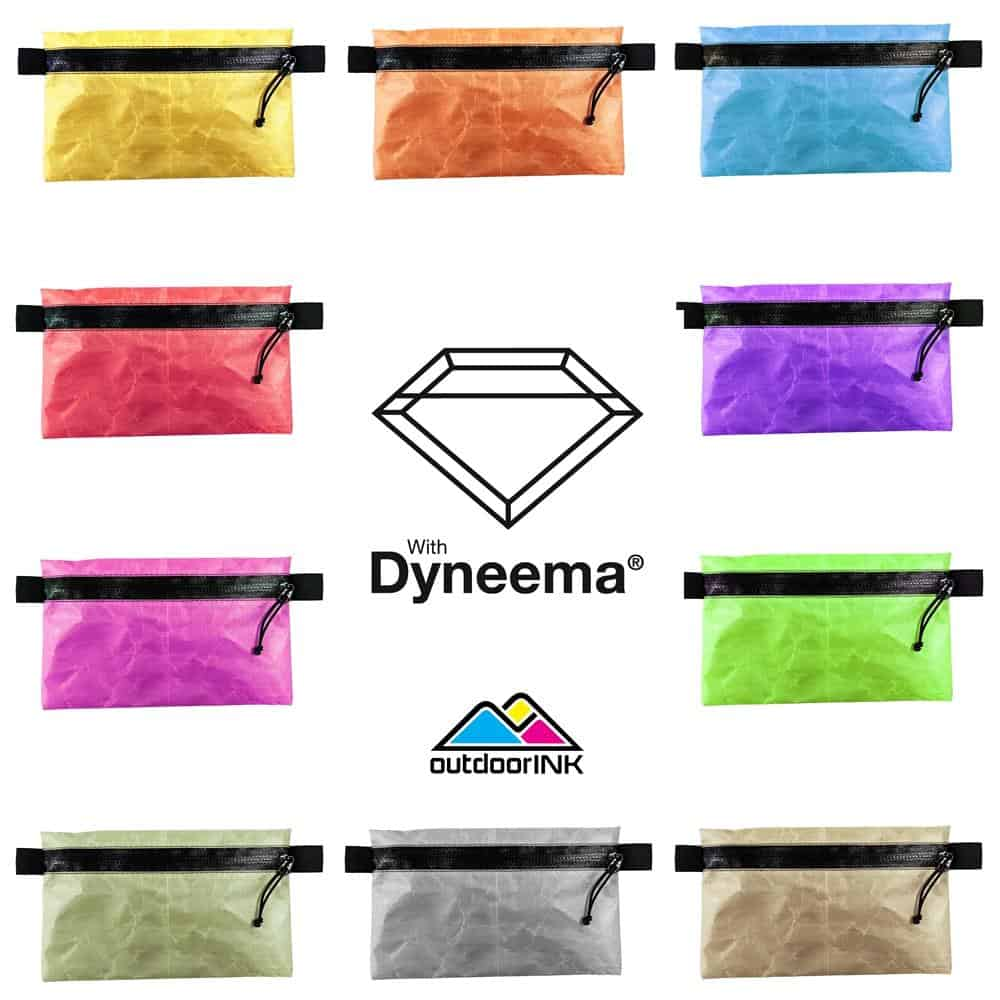Omnicolor Solids - Zipper Pouch Kit with Dyneema® Composite Fabric