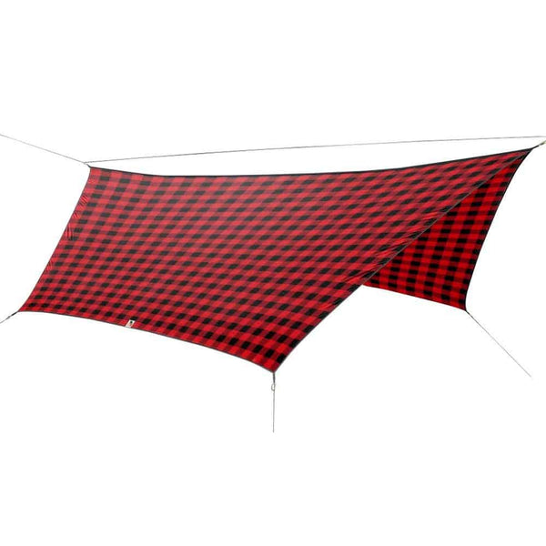 OutdoorINK HEX12 Tarp Kit, Buffalo Plaid
