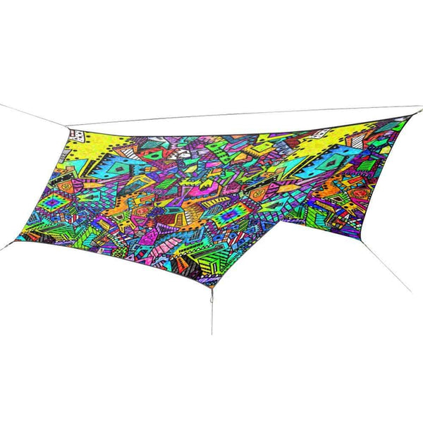 OutdoorINK HEX12 Tarp Kit, Coloring Book