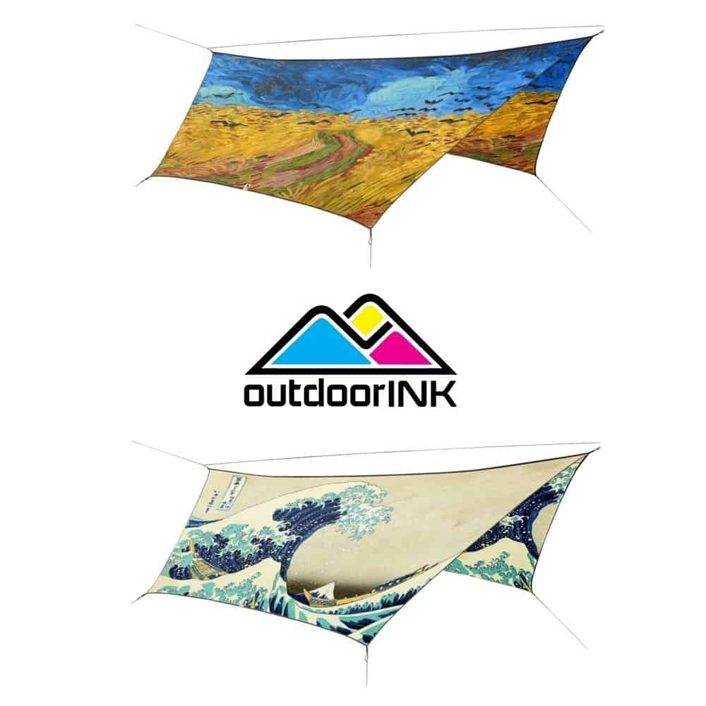 OutdoorINK HEX12 Tarp Kit