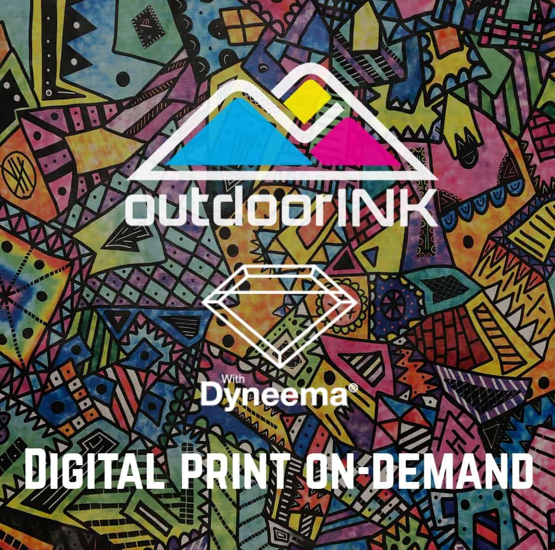 OutdoorINK Print On-Demand Fabric - Dyneema Composite
