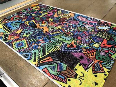 OutdoorINK Print On-Demand - Dyneema Composite Fabric, Coloring Book