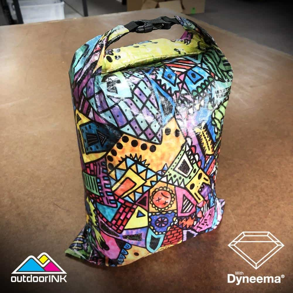 OutdoorINK Roll Top Dry Bag Kit with Dyneema Composite Fabric