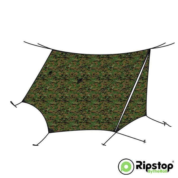 Pre-Cut WINTER12 Tarp Kit, MARPAT