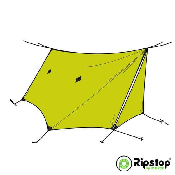 Pre-Cut WINTER12 Tarp Kit, Olive Yellow