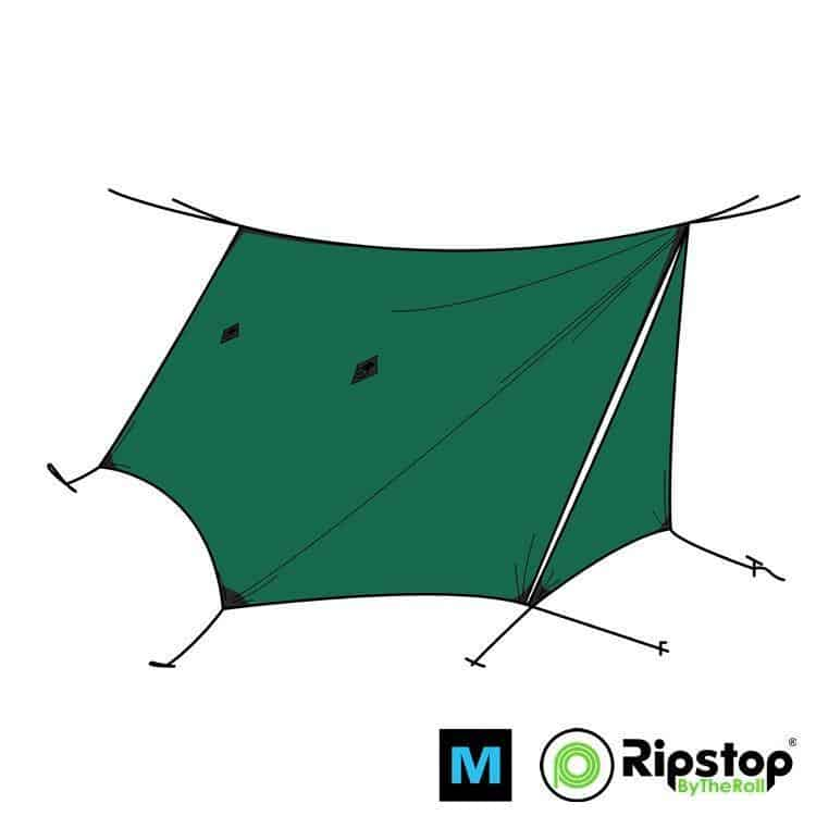 Pre-Cut WINTER12 Ultralight Tarp Kit